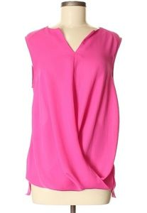 Laundry by Shelli Segal Sleeveless Pink Blouse